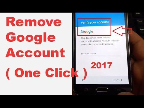 In ONE CLICK 2017) Remove/Delete/Bypass All Samsung Google