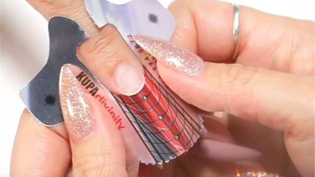 How To Apply Nail Forms Like A Pro Almond Ballerina Square Stiletto Shapes Nail Forms Acrylic Nail Shapes Different Nail Shapes
