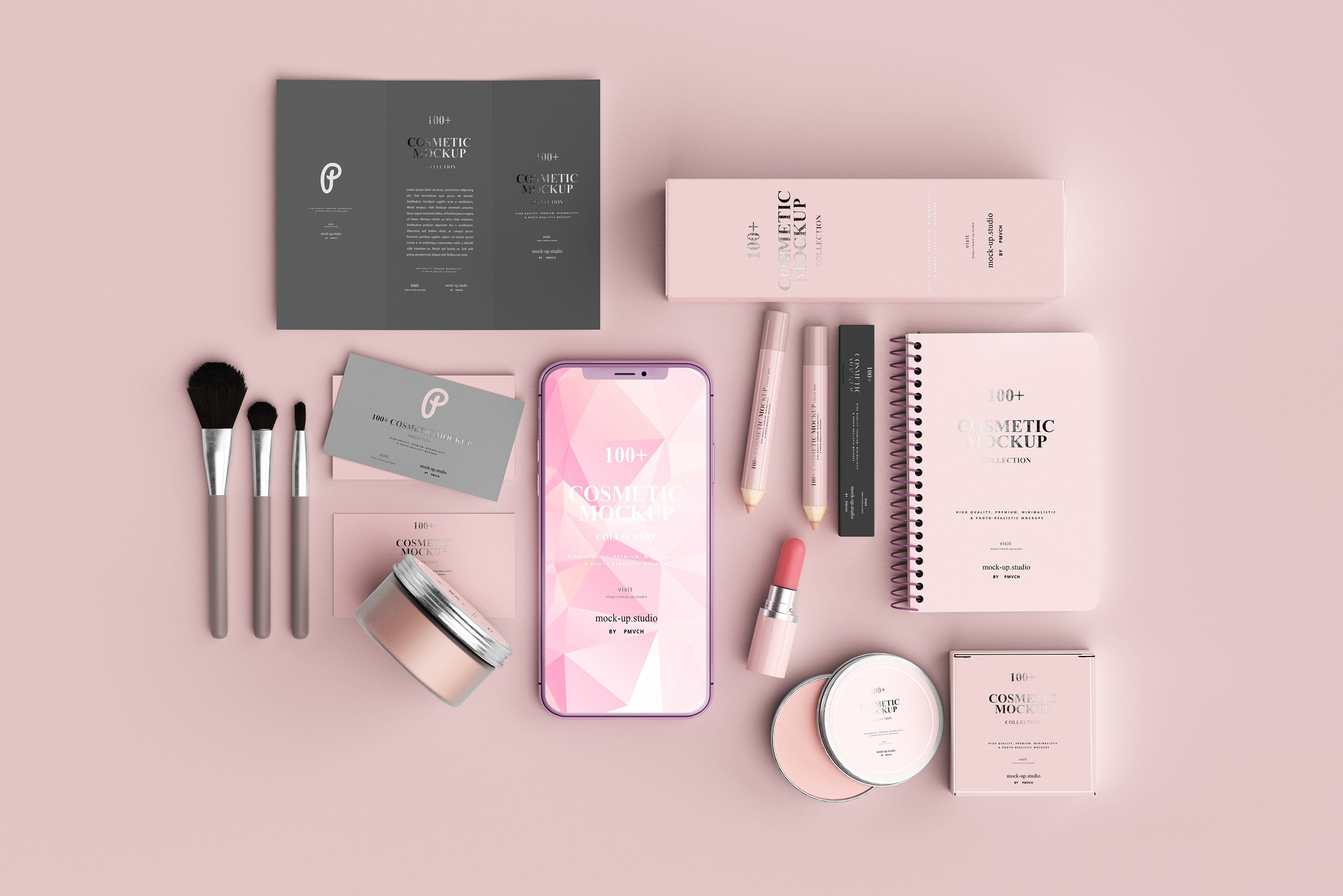 100 Cosmetic Mock Up Collection Cosmetics Mockup Effective Skin Care Products Cosmetics Brands