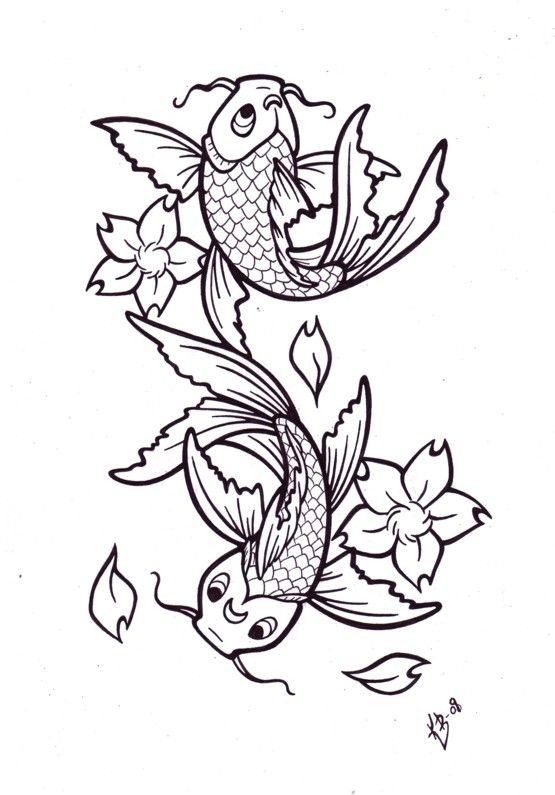 abecedario   Draw   Pinterest   Tatuajes, Paloma tatuaje y Pez koi