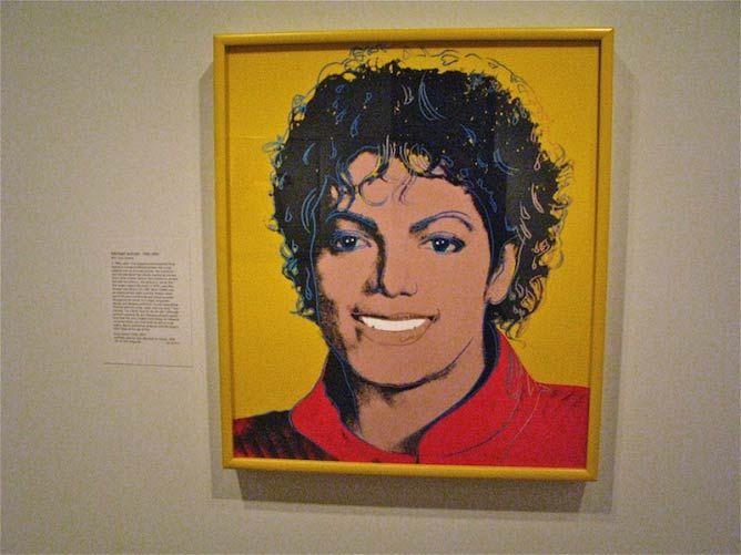 Andy Warhol's Michael Jackson Portrait |