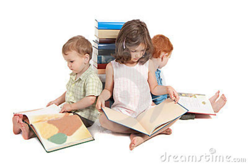 Children Reading Kids Picture Library Books Stock Photography Image 17951792 Kids Reading Kids Pictures People Png