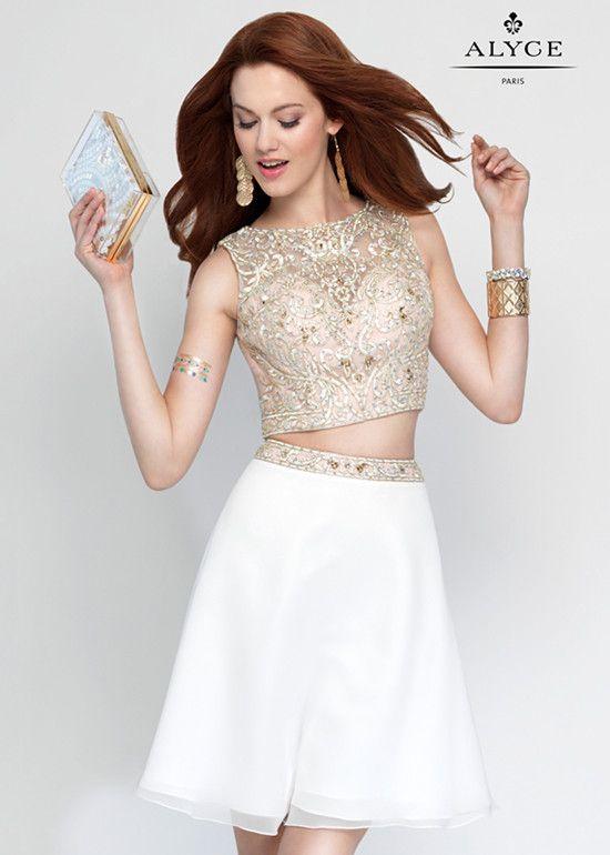 Rosdress\'s Blog: White Chiffon Short Homecoming Dress Is Very ...