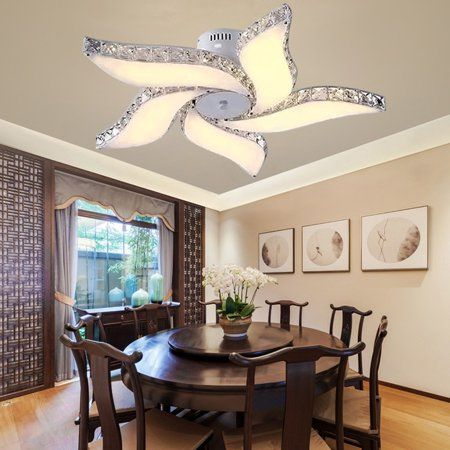 the latest c1ca2 ced95 Dining room light fixture,Crystal Chandelier Modern Ceiling ...