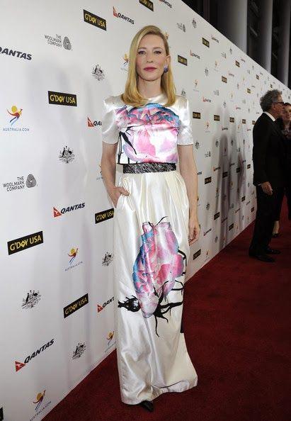 Pactar con el Diablo por...: El intenso fin de semana pre-Globos de Oro de Cate Blanchett