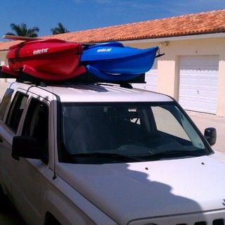 Car Top 2 Kayak Rack Roof Rack Cars Only About 30 Bucks