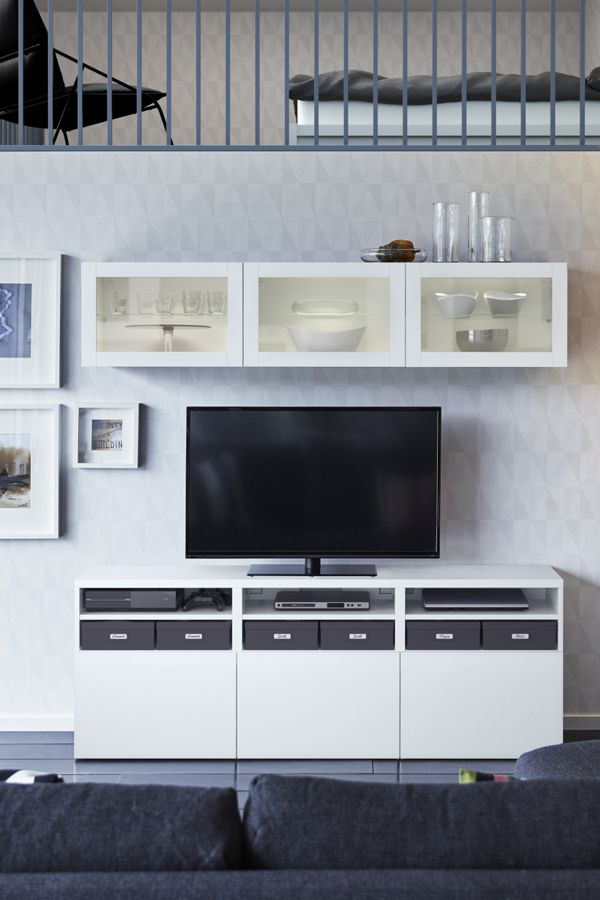 The IKEA BESTÅ storage system is the neat and stylish way to ...