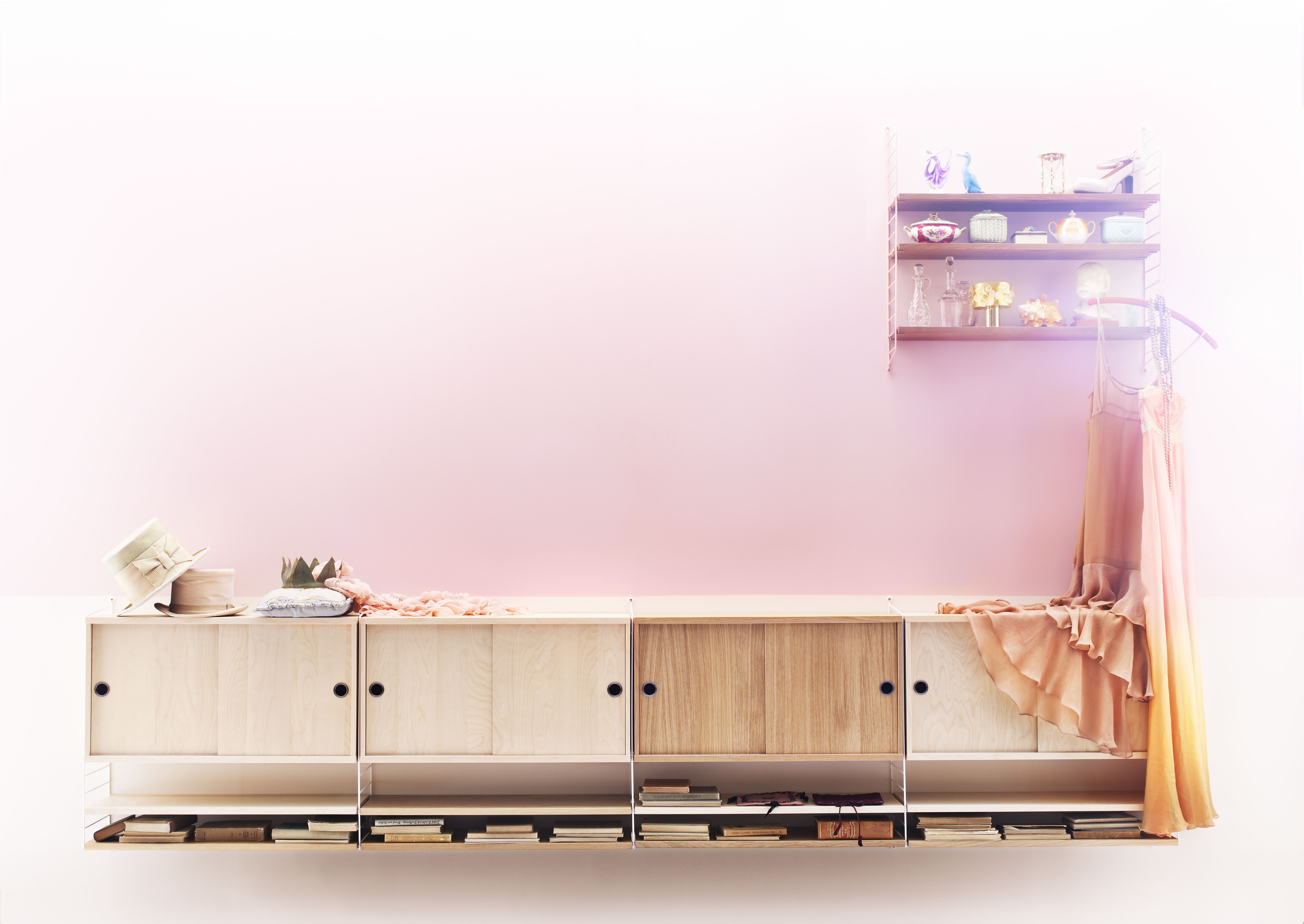 Design String Kasten : Different shades of wood createspace string system furniture
