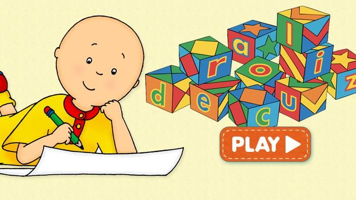 Caillou | Websites for little kids | Caillou, Video games