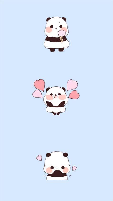 Cute Kawaii Panda Wallpapers - Wallpaper Cave