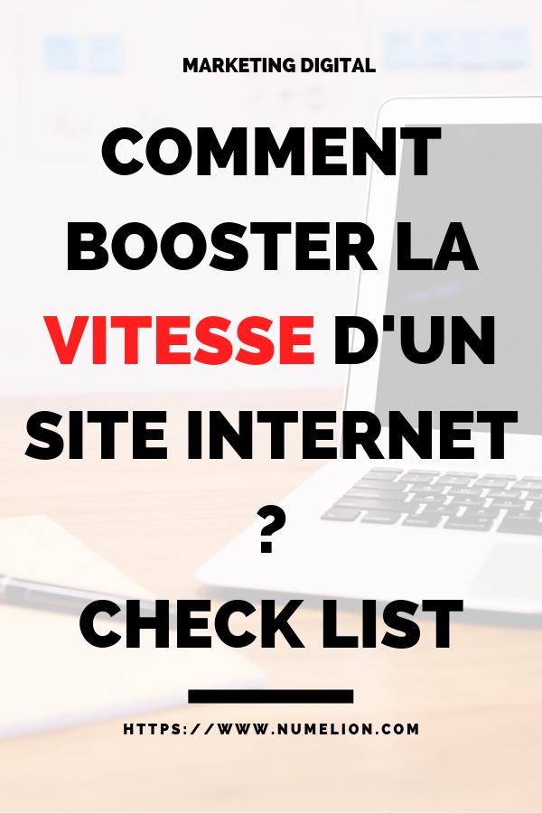 Ameliorer Booster La Vitesse D Un Site Internet Blog Ecommerce Site Internet Blog Astuces Informatiques