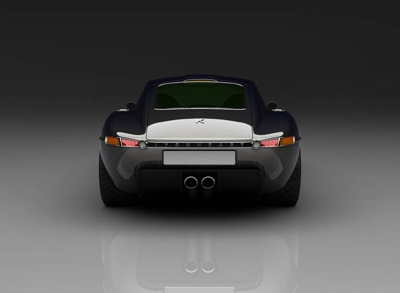 Lyonheart K Coupe Luxury Sports Car Influenced By The Jaguar E Type