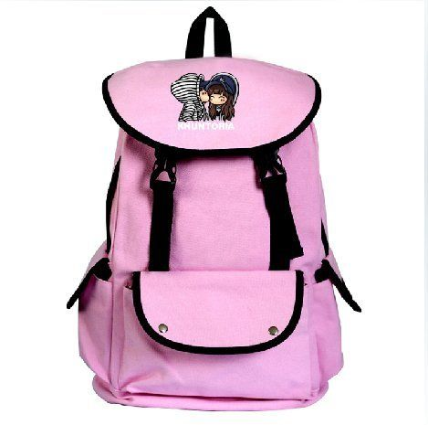 Star Khuntoria Cartoon Cute Backpack Leisure Pink School Bag For ...