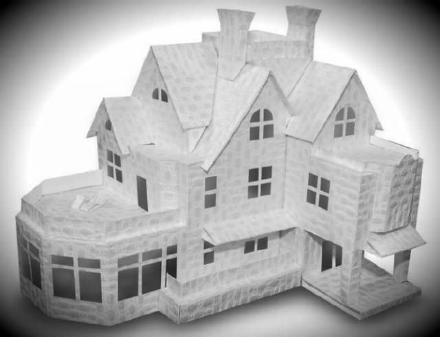 Do It Yourself Home Design: Papermau: The Big Mansion Paper Model
