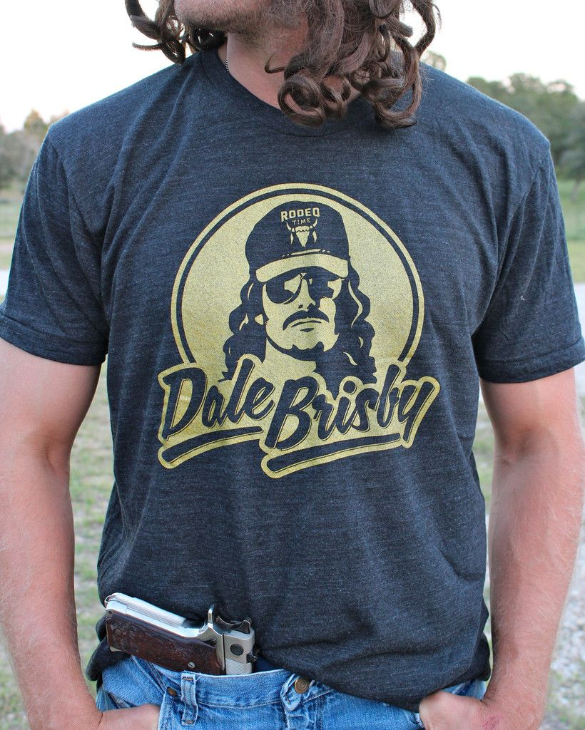 3fa1d42bc1f Dale Brisby Gold Logo T