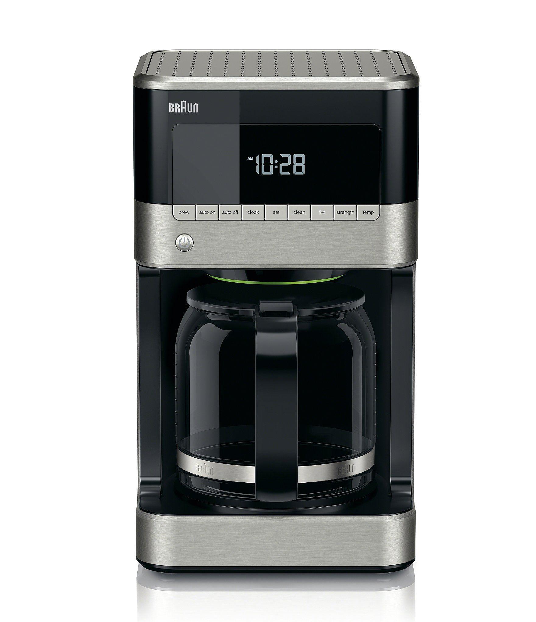 Braun BrewSense 12Cup Drip Coffeemaker Black/Stainless