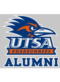 Utsa Alumni Decal University Of Texas San Antonio Road Runner College Logo San Antonio