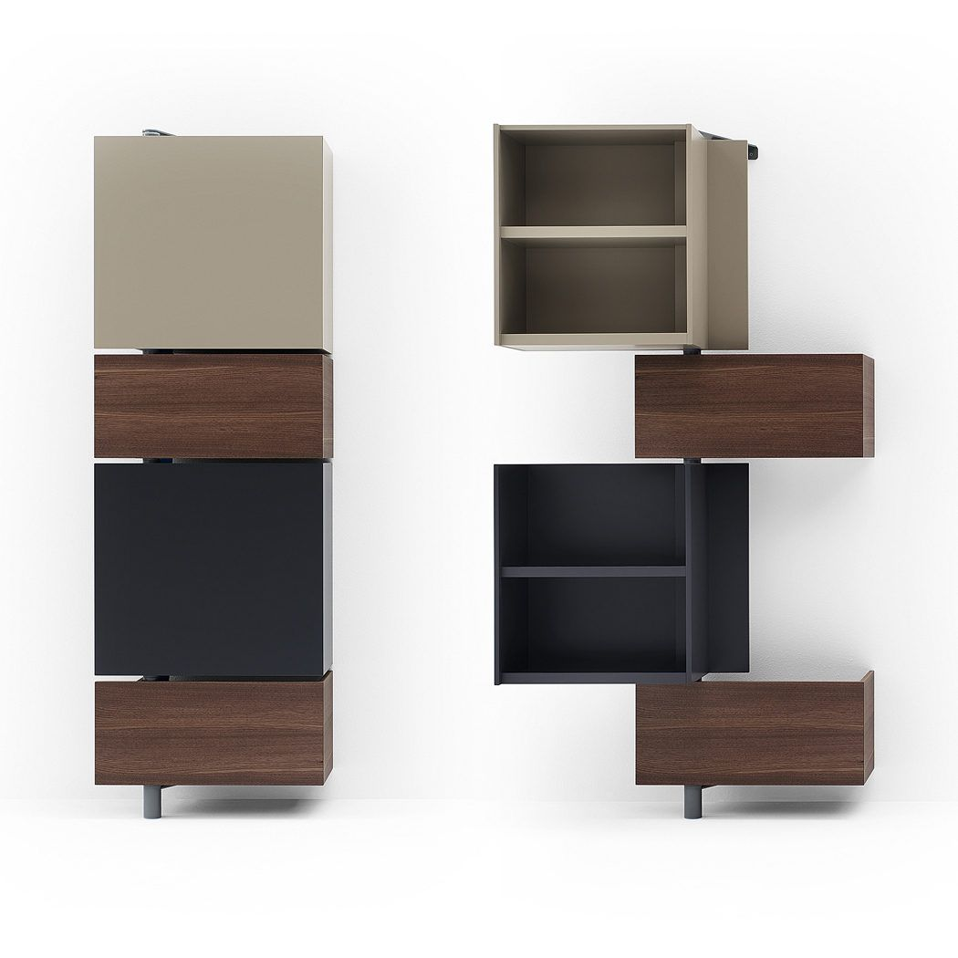Giralot modular twist shelves many colors finishes resource furniture nyc