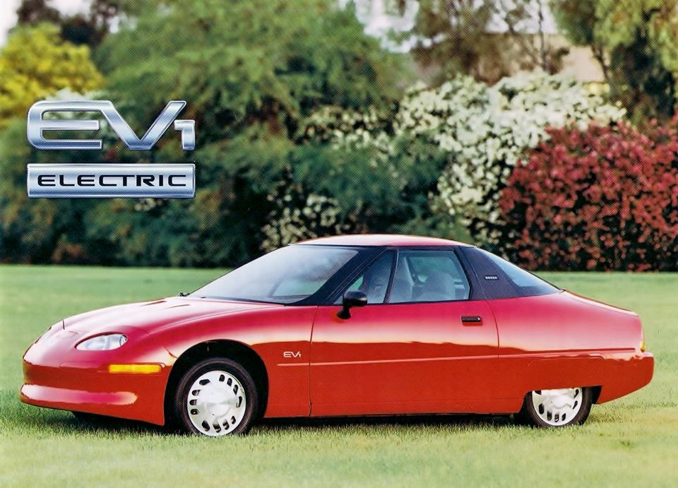 Gm Ev1 Electric Cars General Motors Vehicles