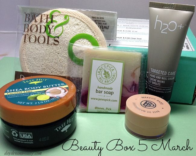 beauty box five | This month's Beauty Box Five subscription focuses on clean and ...