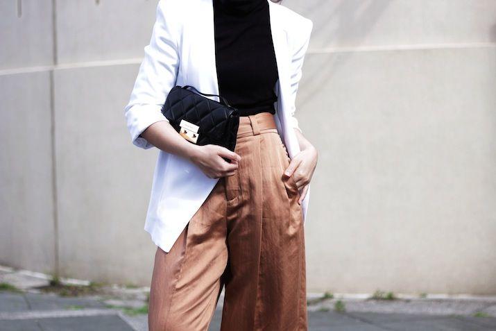 blazer & culottes. London. #whatdefinesus