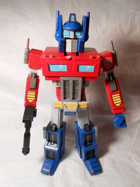 Nutcracker - Handmade Wooden Transformers Optimus Prime. | Go Go ...