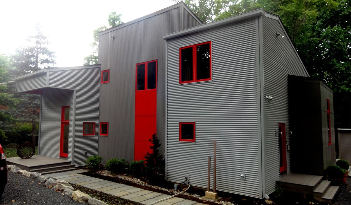 Metal Wall Panels Corrugated Metal Panel Corrugated Metal Siding Steel Cladding Metal Siding House