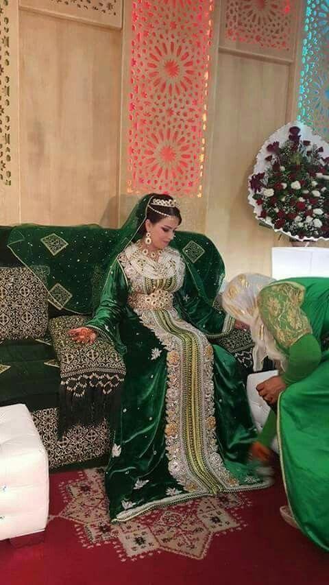 Moroccan Bride My Morroco Caftan Mariage Robe Marocaine