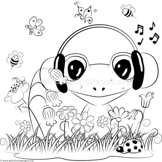 Diy Board Colouring Pages Frog Coloring Pages Adult Coloring Pages