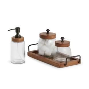 Bathroom Accessories You Ll Love In 2020 Wayfair Ca In 2020 Bathroom Accessories Sets Small Bathroom Decor Bathroom Sets