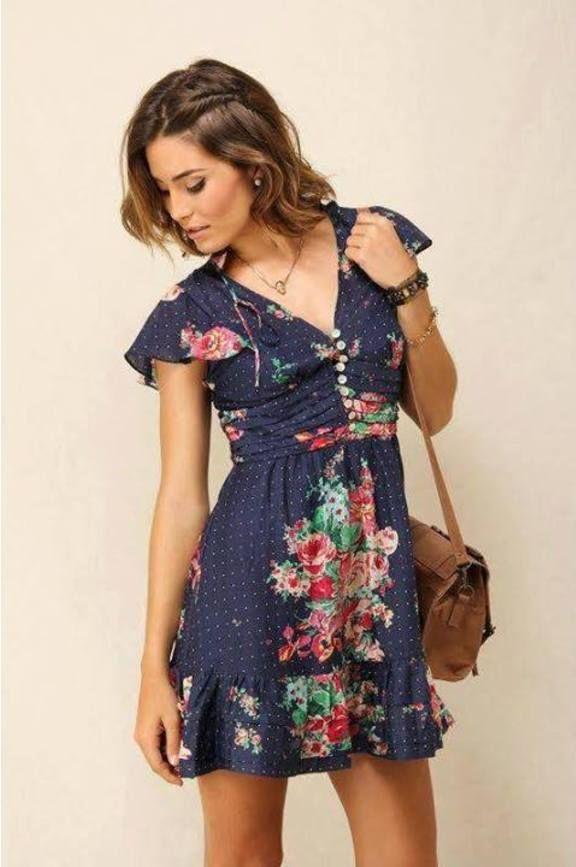 4082158bf roseiral - vestidos farm …   Inspirações   Vesti…