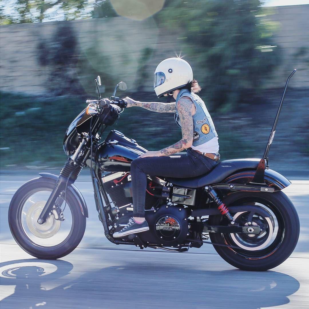 Real Motorcycle Women - cylinderella