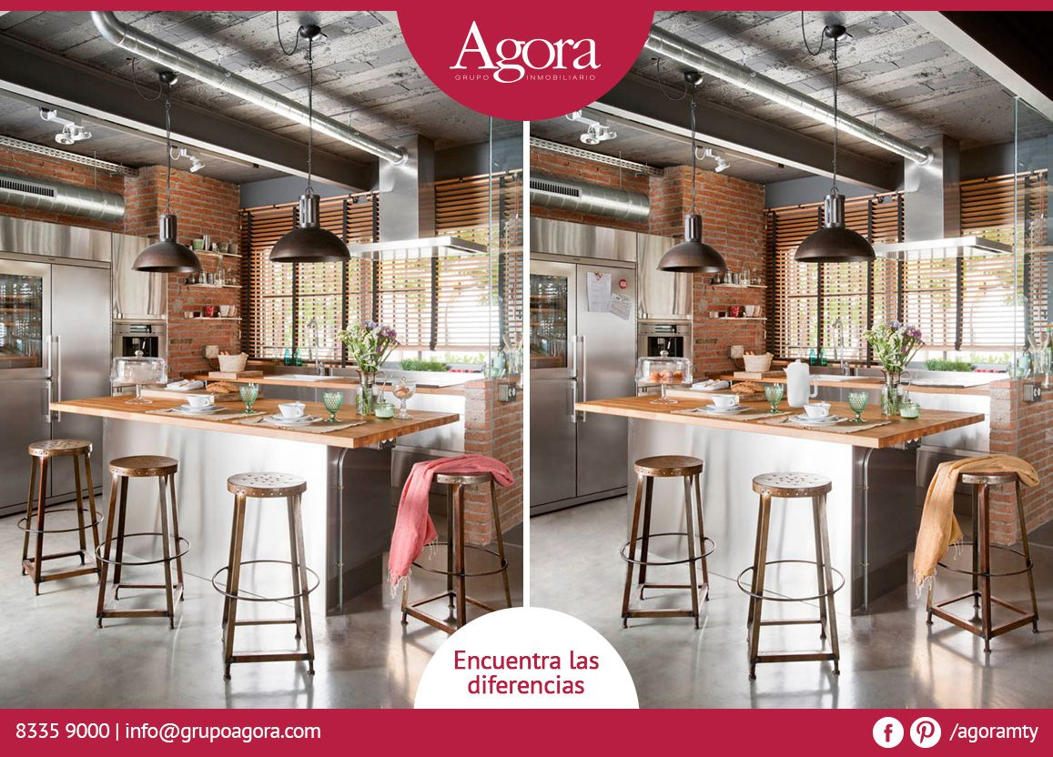 Dinos Si Puedes Encontrar Las 7 Diferencias Casas Deco Homedeco  # Muebles Quinto Nivel