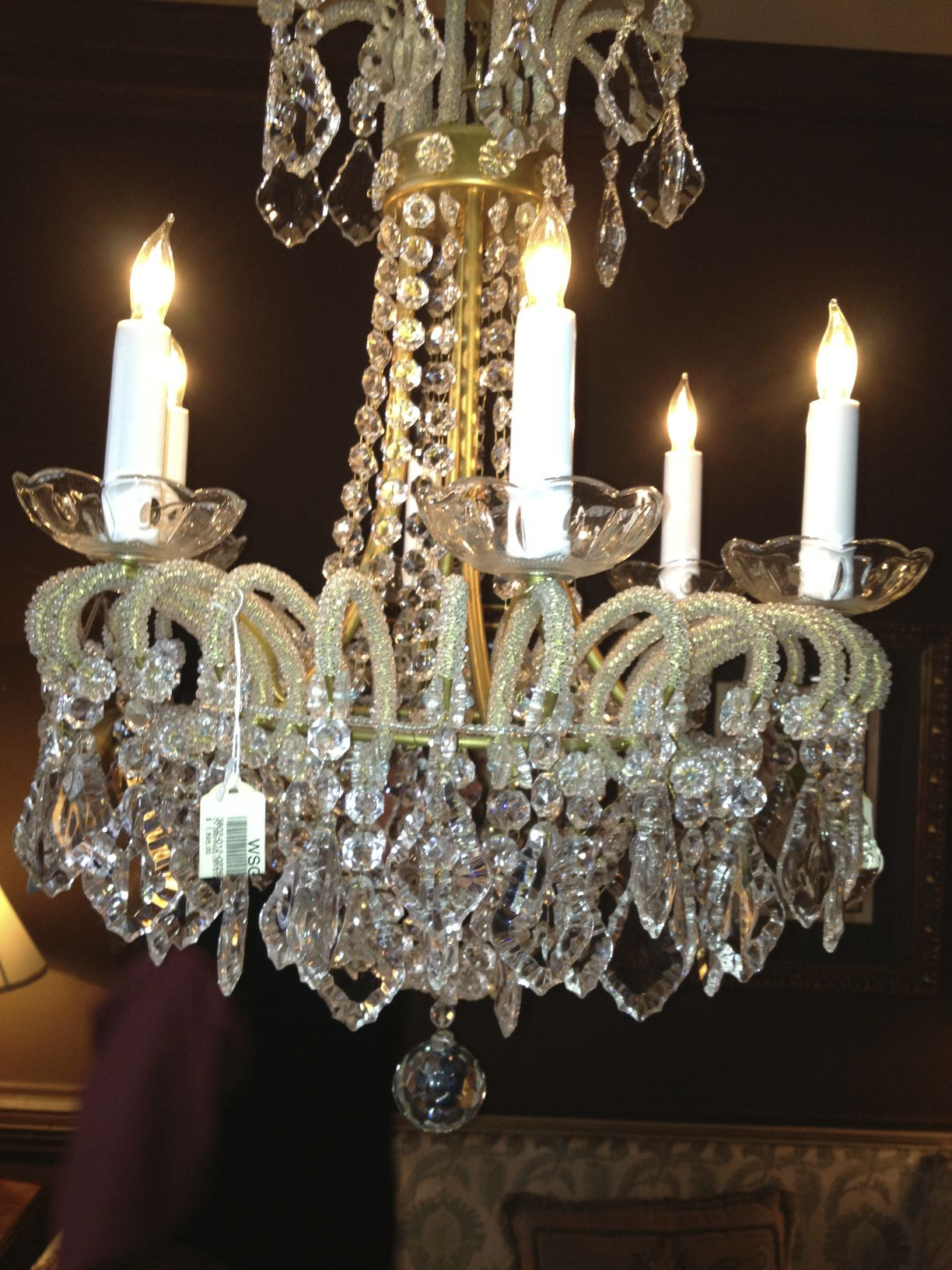 Another crystal chandelier from Shelbyville