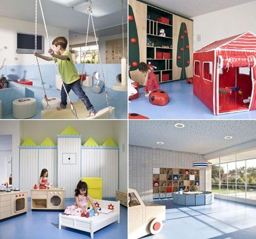 Espacios cool para ni os guarderia en tel aviv for Diseno curricular jardin maternal