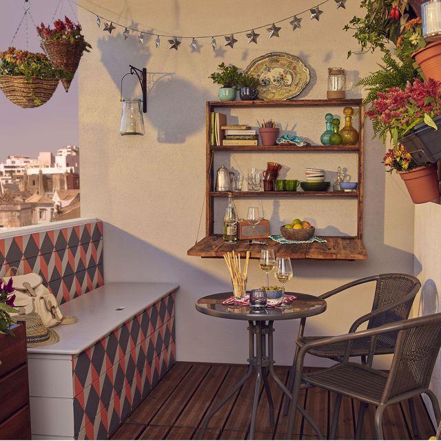 Deco Balcon Des Idees Pour Mettre De La Couleur Deco Balcon Mobilier De Salon Et Deco