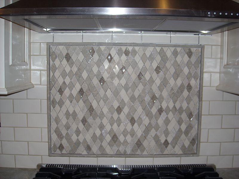 tile showroom contemporary backsplash