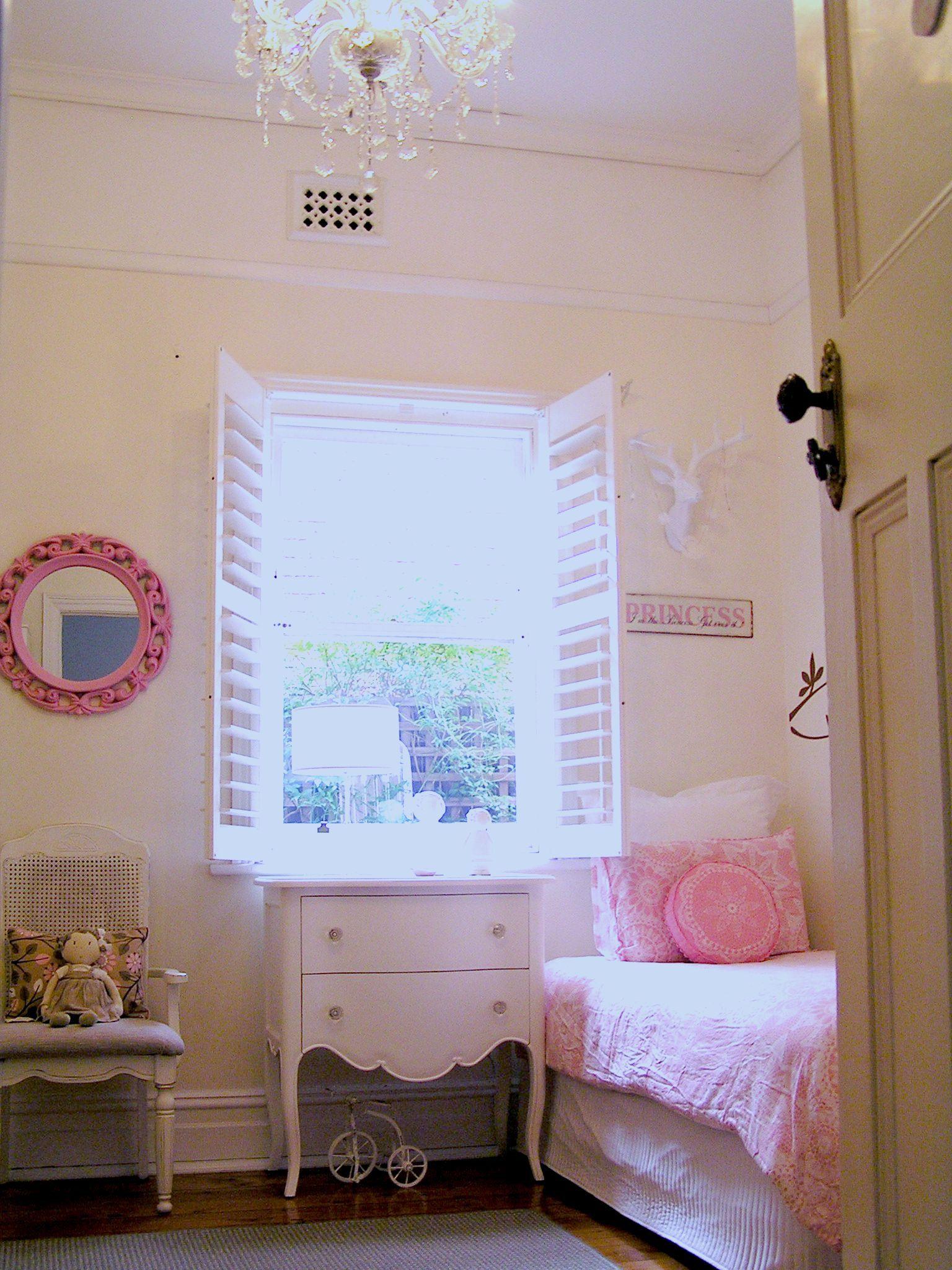 Girls Shabby Chic French Bedroom Vintage