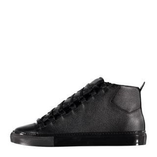 JUST IN . . . Balenciaga Arena Grained Leather Trainers