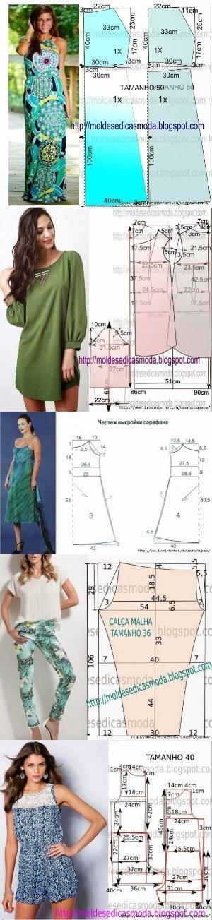 Diy pattern making top | Kleding maken | Pinterest | Patrones ...