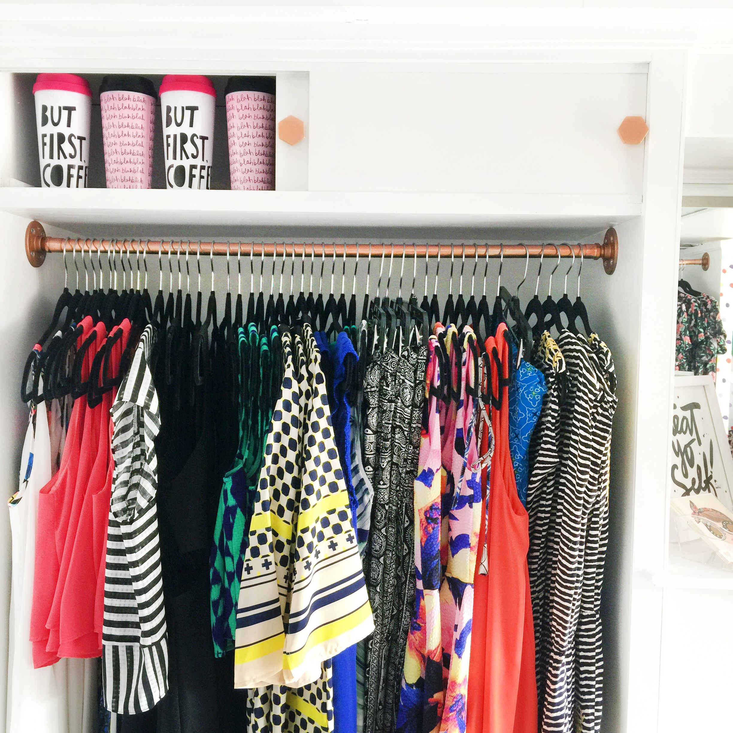details from the patterns pops mobile boutique interior design