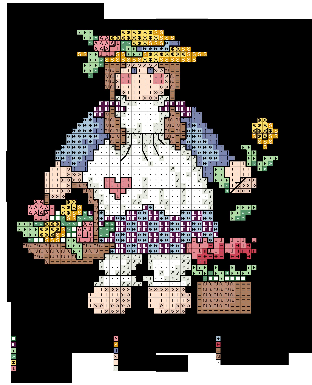 Alfabeto dolly f flowers alfabeti a punto croce for Ricamo punto croce lettere