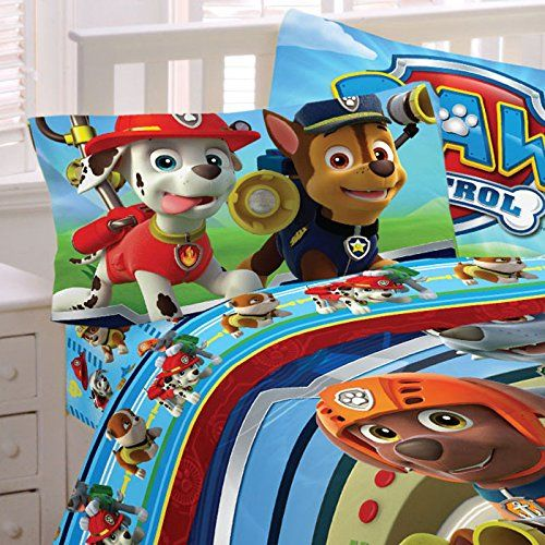 Franco Paw Patrol Puppy Hero Sheet Set Paw Patrol Bedding Kids Bedding Sets Twin Sheet Sets
