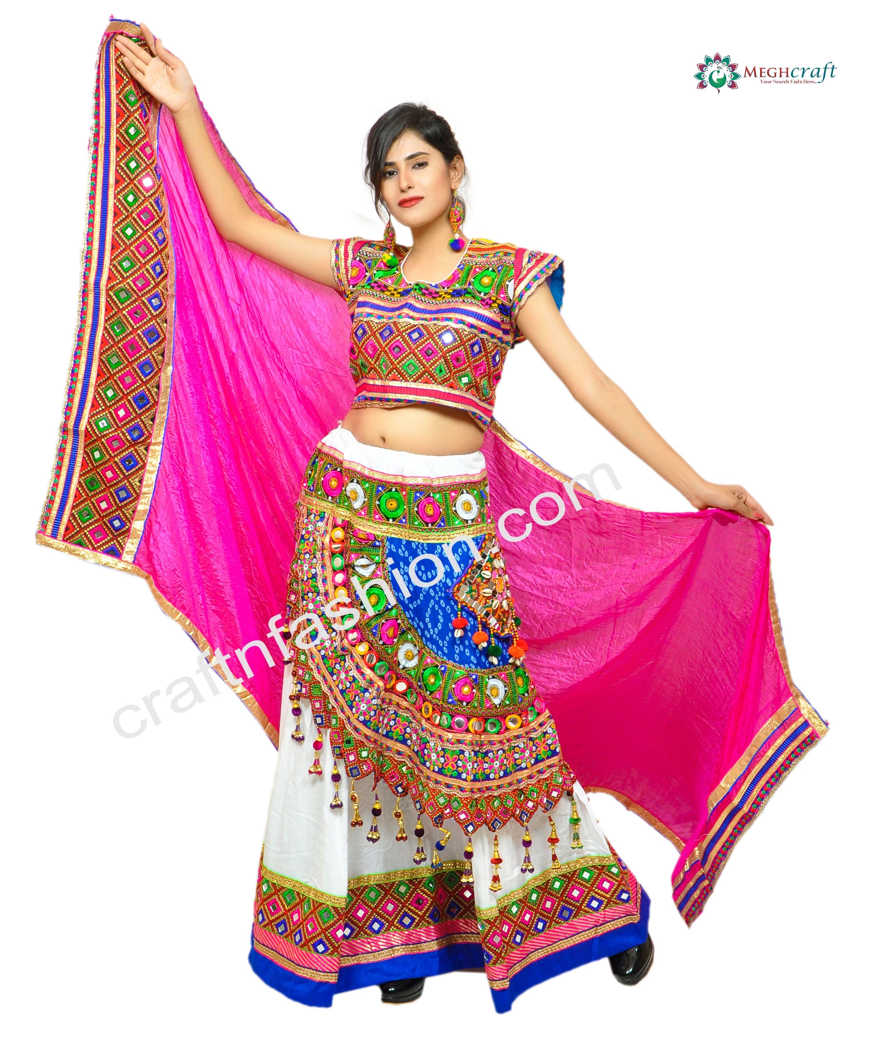women/'s Designer Vintage Banjara tribal Embroidered Chaniya Choli Banjara Bohemian Chaniya Choli for girl Belly Dance ethnic Ghghra Choli