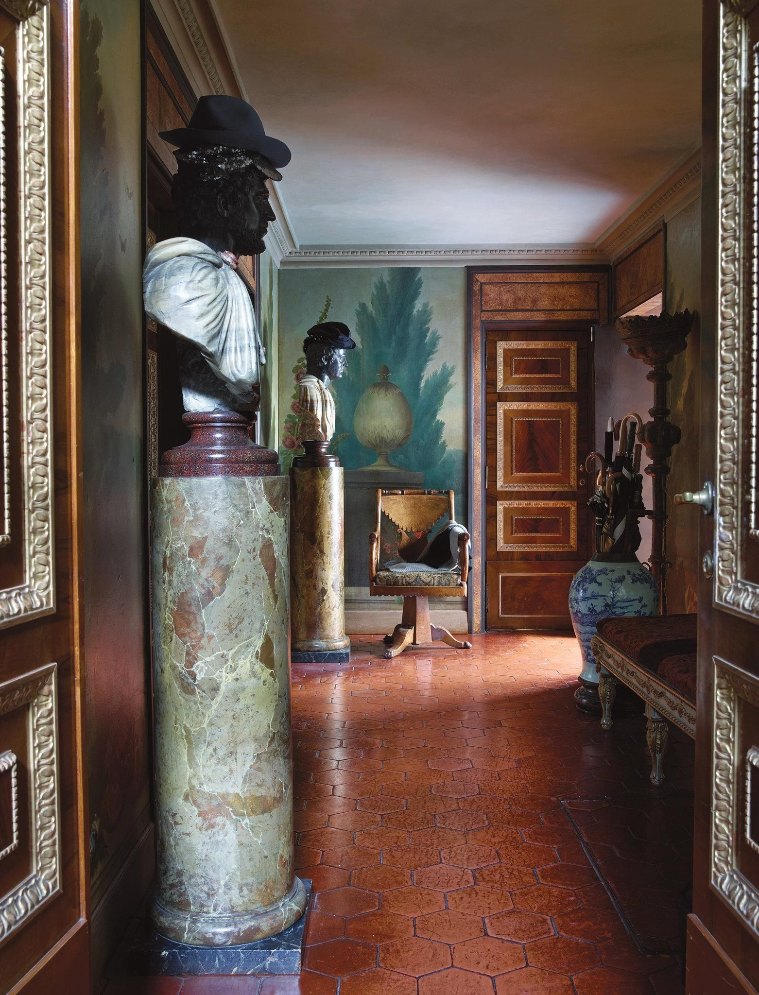 Inside three rarely seen renzo mongiardino designed homes the new york times also rh pinterest