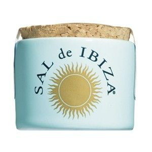 Mini Ceramic Pot Salt Flower 30g. Sal de Ibiza