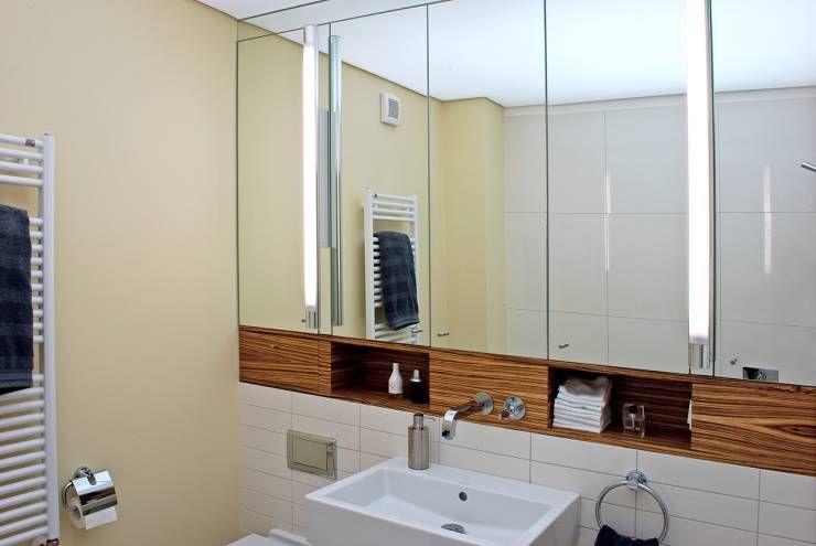 Waschtisch: Moderne Badezimmer Von Dielen Innenarchitekten Moderne  Badezimmer, Badezimmer Bilder, Kleine Badezimmer,
