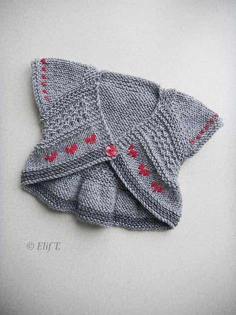 Entrechat pattern by Lisa Chemery | Knitting girls, Baby ...
