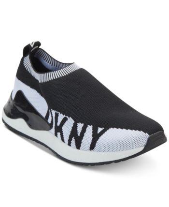 026e96acc007f Dkny Women's Rini Sneakers, Created for Macy's - Black 6.5M ...