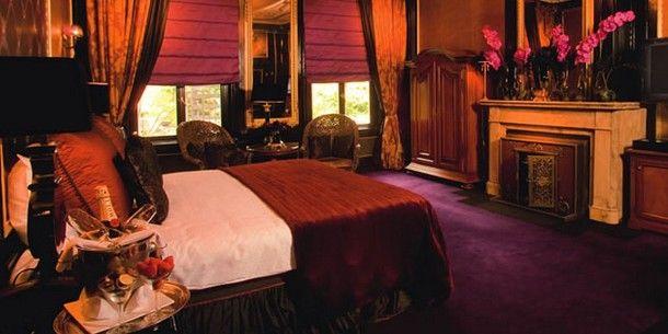 Lujosas habitaciones, Suite real del hotel Toren en Amsterdam